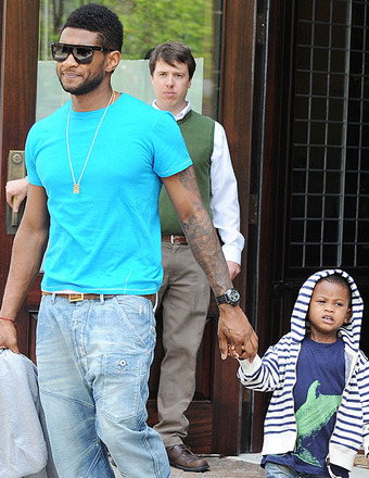 Usher's Son Rushed to Hospital After Pool Accident