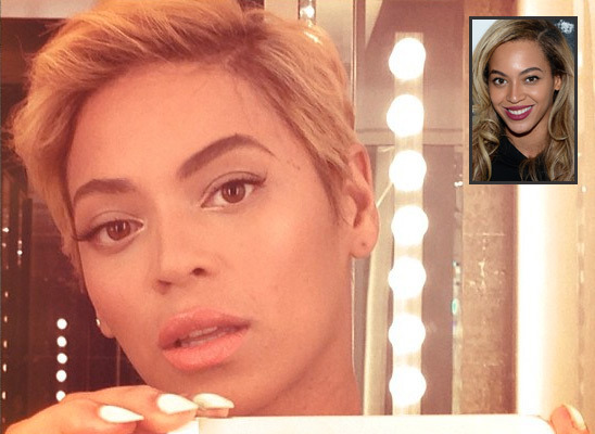 Pic! Check Out Beyoncé's Dramatic New Haircut!