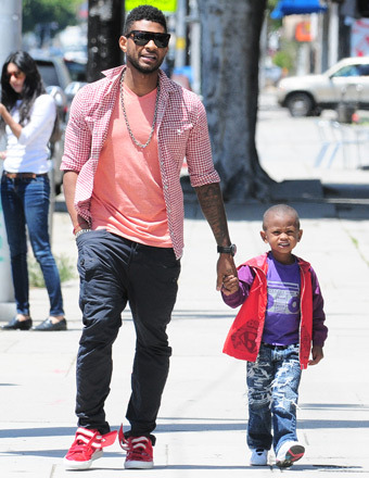 Usher Breaks Silence, Says Son 'Doing Well' Following Pool Accident
