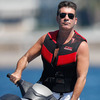 Simon Cowell Taking a Break from Baby Mama Drama [Splash News]