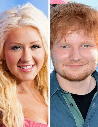 Christina Aguilera on Working with Ed Sheeran on 'The Voice'