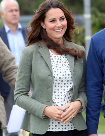 Pics! Kate Middleton Makes First Public Appearance