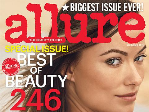 World Magazine Covers Cover of Allure Magazine