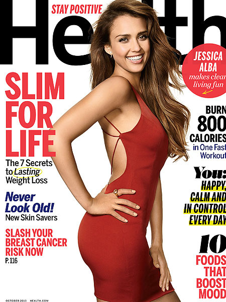 Jessica Alba on Why She Won't Take a Bath with Her Kids