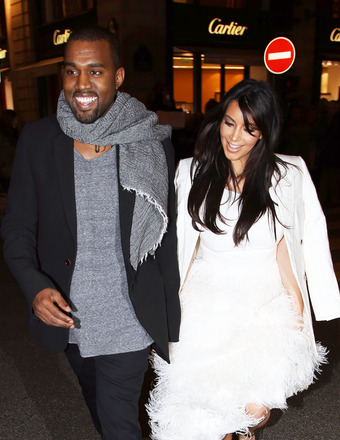 Are Kim Kardashian and Kanye West Fighting Over Secret Baby Fashion Line?