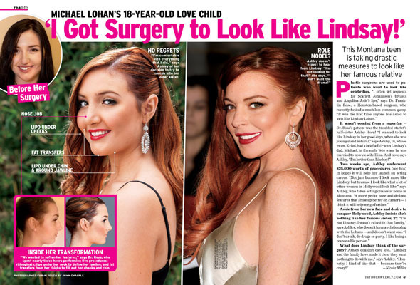 Lindsay Lohan's Half-Sister Gets Plastic Surgery to Look Like LiLo