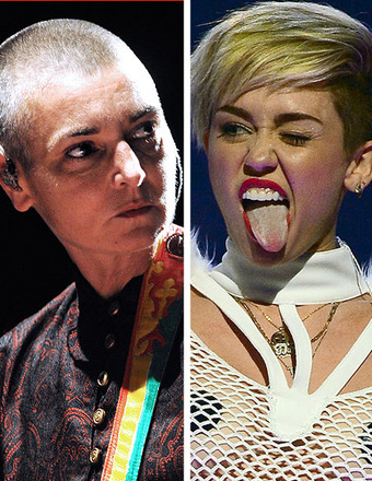 Sinead O'Connor to Miley Cyrus: It's Not 'Cool' to Lick Sledgehammers
