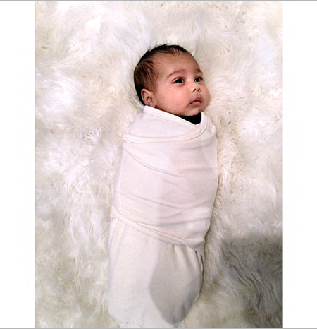 Baby North Alert! Kim Kardashian Posts Adorable 'Angel' Pic