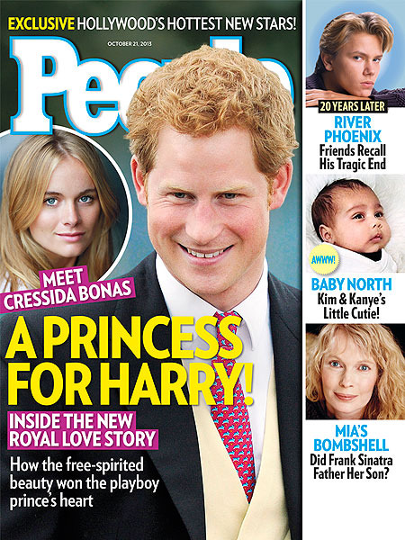 Prince Harry's Lady Love: 5 Things About Cressida Bonas