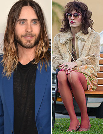 Jared Leto on Playing Transgender, and the One Place He Didn't Want Waxed!