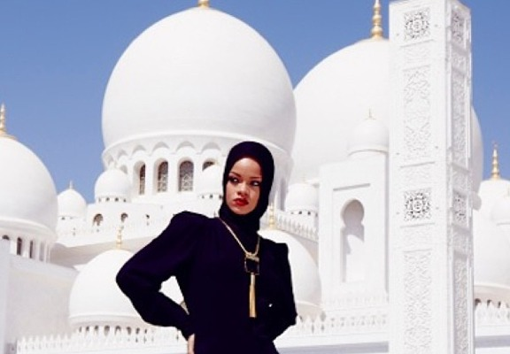 Abu Dhabi Mosque to Rihanna: Leave Immediately!