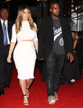 Kim K and Kanye Holler: 'We Want a Prenup!'