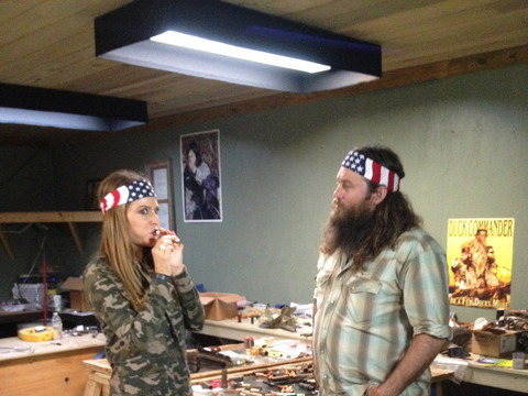 do phil and miss kay live in the house shown on duck dynasty