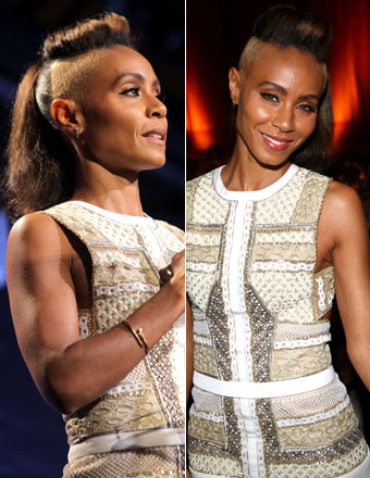 Gossip Girl: Jada Pinkett Smith Debuts New Shaved 'Do