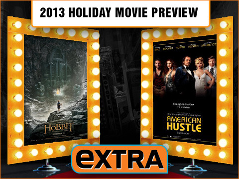 Now Playing Live 2013 Holiday Movie Preview: 'Hobbit,' 'Hustle' and More!