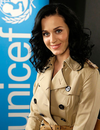Katy Perry, the newly appointed UNICEF Goodwill Ambassador, visited UNICEF House in NYC.