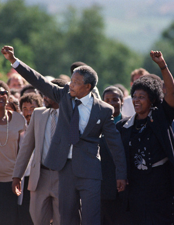 South African Icon Nelson Mandela Dead at 95, Celebs React