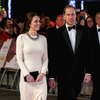 Kate Middleton and Prince William at 'Mandela' Premiere the Day He Dies
