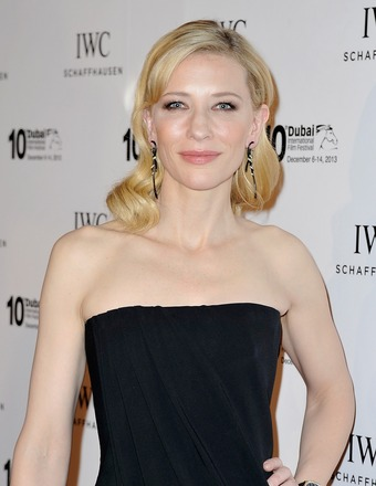 Cate Blanchett attended the Dubai International Film Festival.
