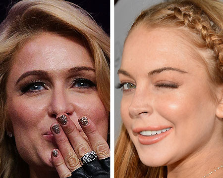 Paris Hilton Sends Lindsay Lohan a Warning: Don't Mess with My Family or Else!