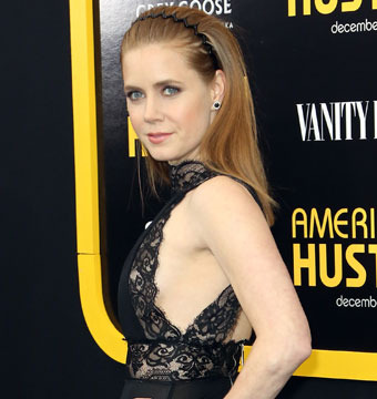 Amy Adams Flashes a Hint of Side Boob at 'American Hustle' Premiere