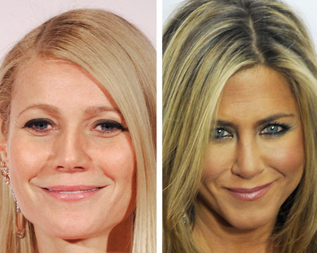 Brad Pitt's Exes Gwyneth Paltrow and Jennifer Aniston Party Together