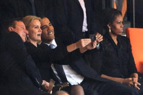 Obama 'Selfie' at Mandela Memorial: Who Is the Woman in the Controversial Pic?