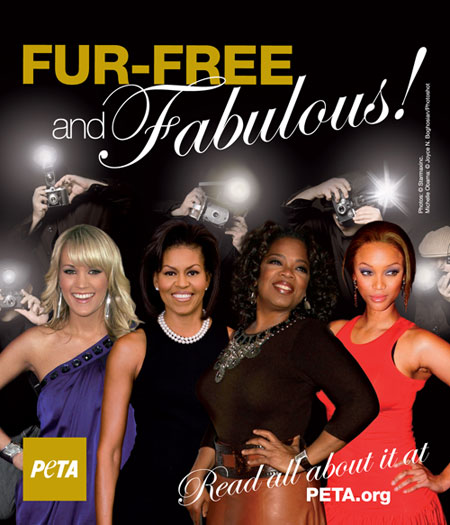 PETA ad uses Michelle Obama's likeness without permission