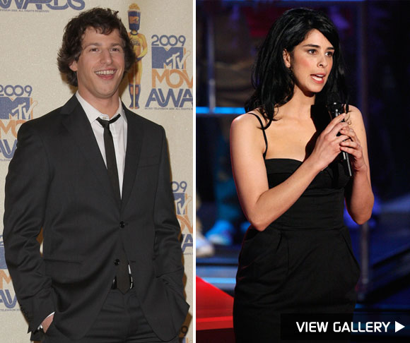 Sarah Silverman and Andy Samberg