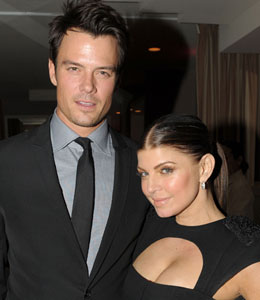 Josh Duhamel and Fergie renew wedding vows