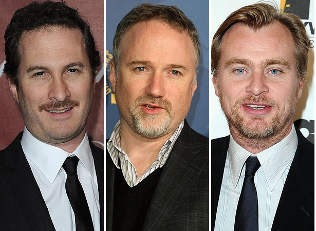 darren aronofsky david fincher christopher nolan
