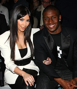 kim kardashian reggie bush