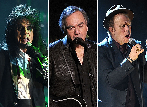 alice cooper, neil diamond and tom waits
