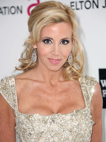 Reality TV star Camille Grammer is definitely leaving the