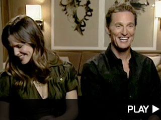 Matthew McConaughey and Jennifer Garner