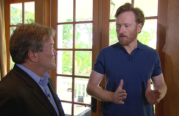 conan o'brien and steve kroft