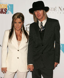 The rumor mill went into overdrive when Lisa Marie Presley, 40, ...