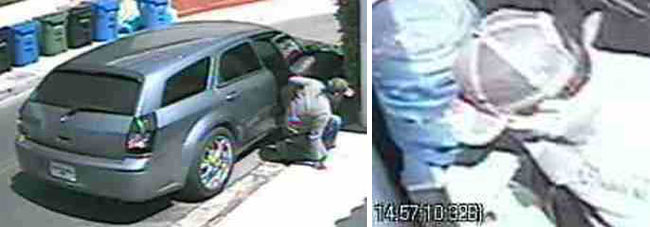 Getaway car and man who attempted to break into Lindsay Lohan's home