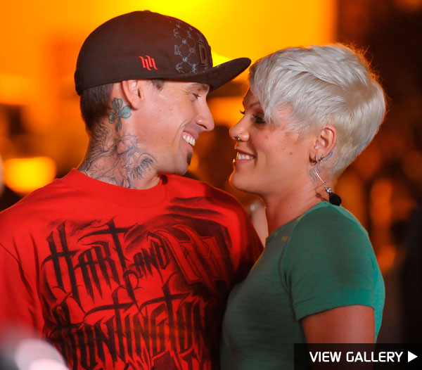 Pink and Carey Hart back together