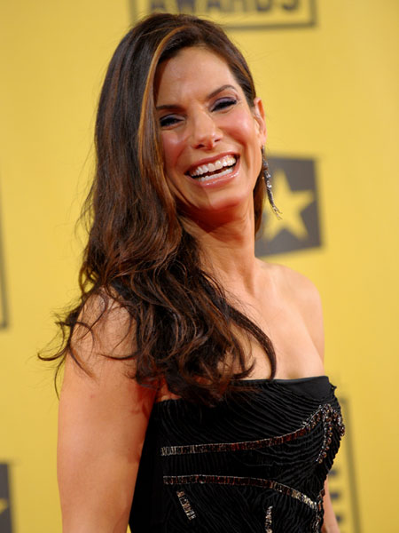 Actress Sandra Bullock hasn't walked a red carpet since her Best Actress ...