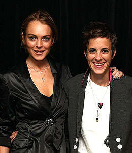 lindsay lohan gets back together with samantha ronson