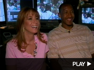 Jill Zarin and Chris Duhon
