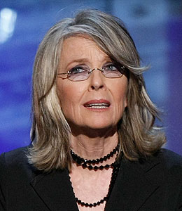 diane keaton injured on movie set