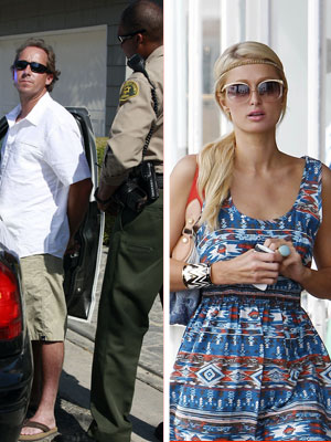 Thundercat Fireworks on Extra Scoop  Paris Hilton Stalker Arrested Outside Her Malibu Home