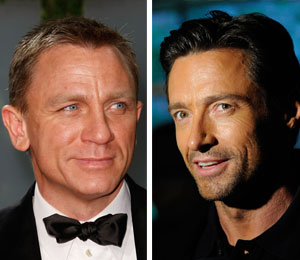 daniel craig and hugh jackman star in a steady rain