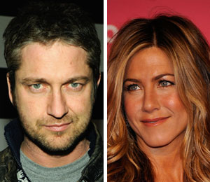 'Extra' clears up the rumors about Gerard Butler and Jennifer Aniston dating.