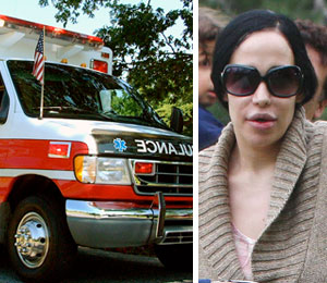 Nadya Suleman's son Caleb was released from the hospital