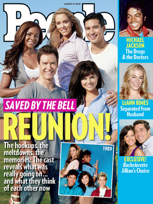 The cast of 'Saved by the Bell' has reunited