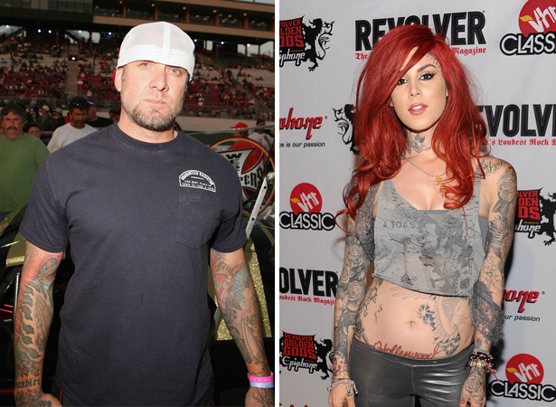 jesse james and kat von d And yes Jesse and I are dating the tattoo