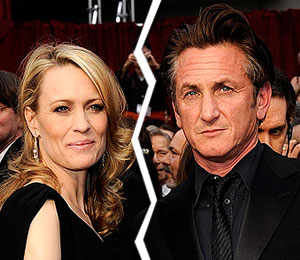 robin wright penn files for divorce